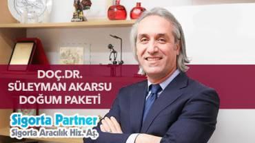 Doç. Dr. Süleyman Akarsu Doğum Paketi
